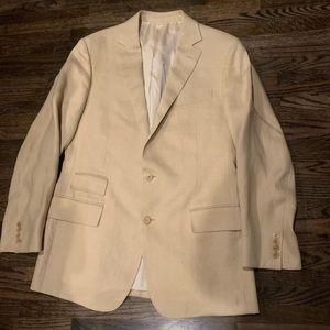Ralph Lauren purple label linen blazer jacket
